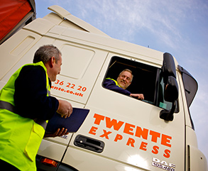 Talking to Twente Express driver